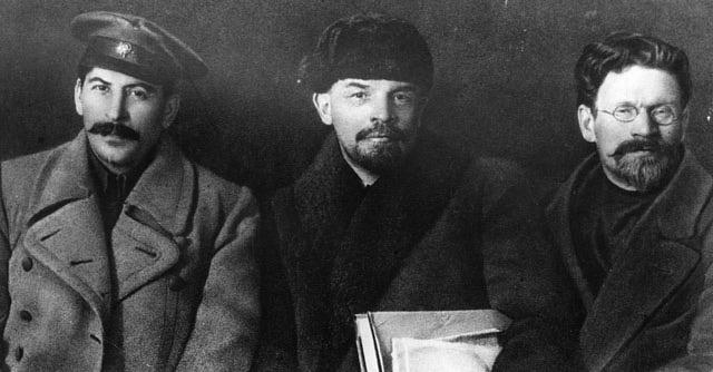 Stalin Lenin Y Trotsky